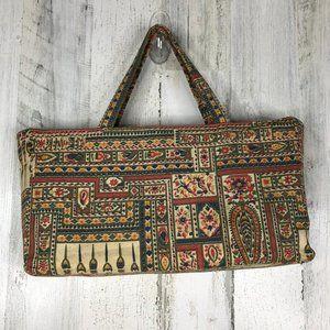 Vintage Garay tapestry carpet bag